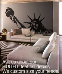 liberty bedroom wall mural: buy vinyl wall art decal sticker statue of liberty huge black color x wall stickers amp murals a free delivery possible on eligible purchases