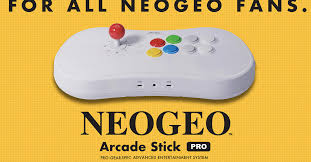 SNK announces Neo Geo <b>Arcade Stick</b> Pro with 20 pre-loaded games