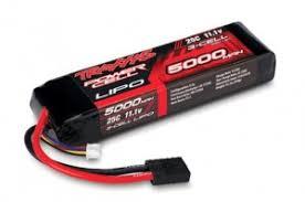 <b>Аккумулятор TRAXXAS</b> LiPo 11.1V 3S 25С <b>5000 mAh</b> (силовой ...