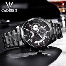 2020 New <b>CADISEN Men's Quartz</b> Wrist Watch Brand Luxury Watch ...