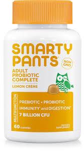 SmartyPants   Adult Probiotic <b>Complete</b> - <b>Lemon</b> Crème   FREE 1-3 ...