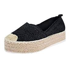 <b>Women's</b> Loafers,<b>Women</b> Lace Flat Shoes Hollow Platform Casual ...