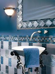 blue bathroom tile ideas: design ideas bluebathroom design ideas