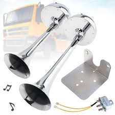 <b>12V</b> / <b>24V 126DB Super</b> Loud All Metal Electric Air Horn | Shopee ...