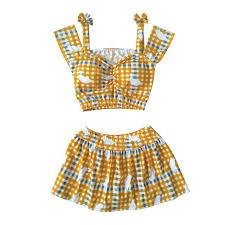 Aliexpress.com : Buy Japanese Style Plaid Swimsuit <b>Women</b> Bikini ...