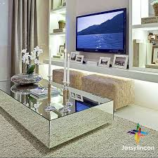 Home, Family room decorating, <b>Mirrored coffee tables</b>