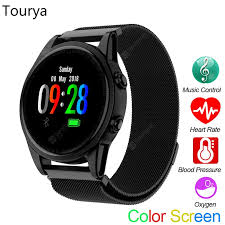 Tourya R13S <b>Smart Watch</b> Heart Rate Bracelet Color Screen ...