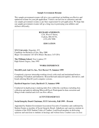 resume templates usa jobs sample resume examples for government gallery of resume templates for government jobs