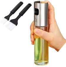 Olive <b>Oil</b> Vinegar Sprayer <b>Oil</b> Spray Bottle <b>Oil Pot Leak</b>-<b>proof Oil</b> ...