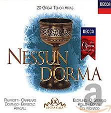 Nessun Dorma ~ 20 Great Tenor Arias / <b>Pavarotti</b>, <b>Carreras</b> ...