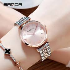 Order 2019 Stainless Steel <b>Women</b> Watches <b>Luxury Brand Crystal</b> ...