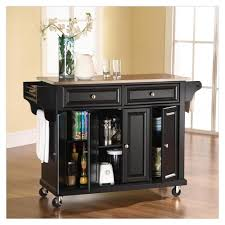 Rolling Kitchen Island Ikea Portable Kitchen Islands With Breakfast Bar Foter Houseeact Small
