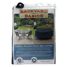 mr bbq black round table and patio set cover black patio furniture covers