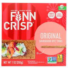 Крекеры Finn Crisp, <b>Хлебцы из дрожжевого ржаного</b> теста ...