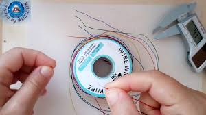 250M 8-<b>Wire</b> Colored Insulated P/N B-30-1000 <b>30AWG Wire</b> ...