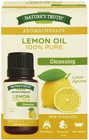 Nature's Truth <b>Essential Oil</b> - 100% <b>Pure Lemon</b> Oil | <b>Pure</b> & Plant ...