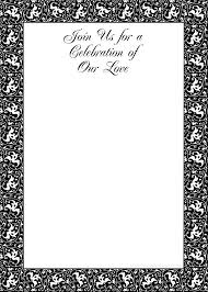 th birthday ideas birthday invitation templates black and above >> elegant simple black and white wedding invitation templates