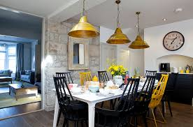 yellow dining chairs interior decor home