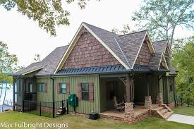 Small Cottage Plan   Walkout Basement   Cottage Floor Plansmall craftsman cottage house plan   porch