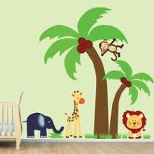 palm tree wall stickers: amazoncom jungle wall decals palm tree decals palm tree wall decals