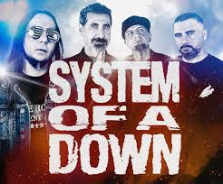 System Of A Down - VIP Nation Europe