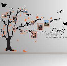 wall decal family art bedroom decor family tree wall decal for your e   home design inspirations image of inspiring colors