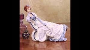 Фарфор: <b>статуэтки</b> компании English Ladies. - YouTube