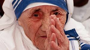 Image result for mother teresa, saint, pope