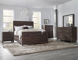 piece emmaline upholstered panel bedroom:  piece townsend solid wood panel bedroom set by modus usa furniture online