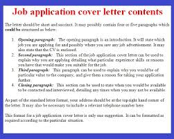 write covering application letter