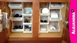 bathroom drawer organize budget