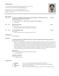 sample resume it  seangarrette co  it resume sample for fresh graduate    sample resume