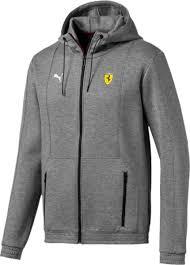 <b>Толстовка</b> мужская Puma Sf <b>Hooded</b> Sweat Jacket, цвет: <b>серый</b> ...
