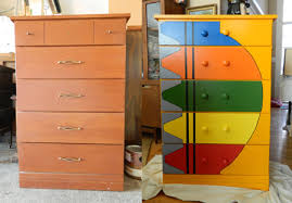 ideas how to paint furniture bright coloured furniture