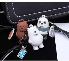 2019 Hot <b>Cartoon Anime</b> We Bare <b>Bears Cute</b> Three Animal <b>Bears</b> ...