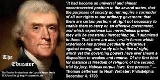 Thomas Jefferson | Foundation Truths via Relatably.com