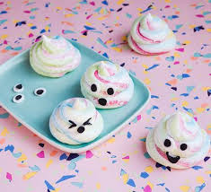 <b>Unicorn poo</b> meringues recipe - BBC Good Food