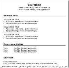 resume format  resume format   cover letters and resumes