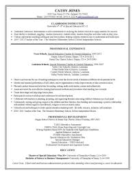 sample teacher resumes special education teacher resume sample special education teacher