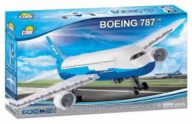 <b>Конструктор COBI</b> 26600 Самолет <b>Boeing 787</b> Dreamliner