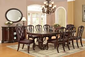 Traditional Dining Room Set Chic Expandable Round Dining Table Vogue New York Traditional