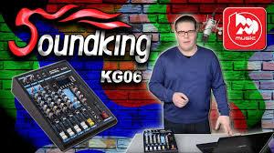 SOUNDKING KG06 - <b>микшер</b> со встроенным проигрывателем и ...