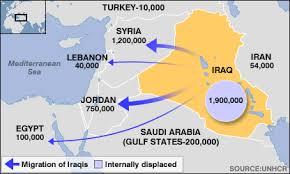 Image result for BBC refugee maps