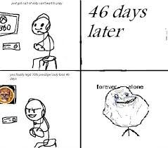 "meme-tastic: The Best of the ""Forever Alone"" meme! via Relatably.com"
