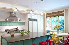 bright colorful home interior designsbright colors schemes for small kitchens with black kitchen island and mini check lighting ideas won39t
