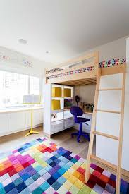 upper west side triplex inspiration for a mid sized scandinavian gender neutral kids room remodel in biege study twin kids study room