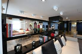 coty a cosmetics company has five floors in the empire state building and each features a kitchen and social space credit chester higgins jrthe new building office pantry