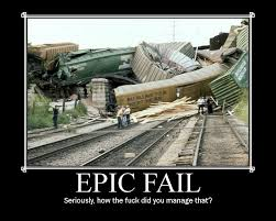 What does Epic Fail mean? via Relatably.com