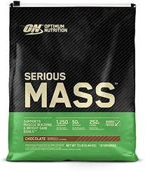 OPTIMUM NUTRITION <b>Serious Mass</b> Weight Gainer <b>Protein</b> Powder ...