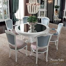 dining room table mirror top: ivory dining room with mirror table top dining room casanova